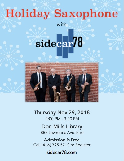 Sidecar78 - Don Mills Library Poster