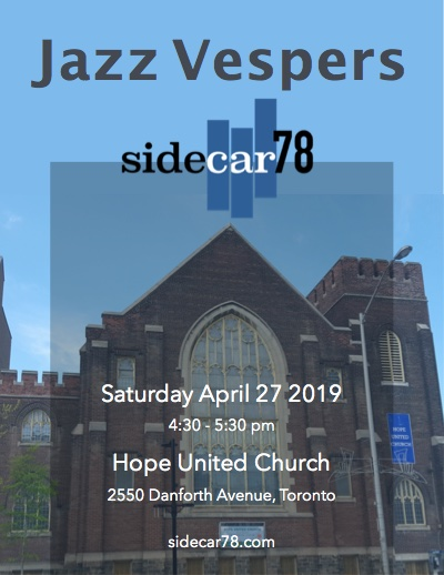 Sidecar78 Hope United Church Poster