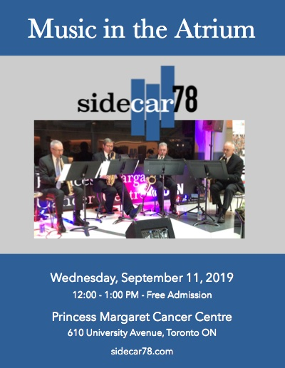 Sidecar78 Music in the Atrium Poster